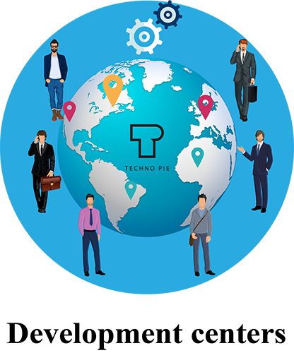 Techno-Pie Development centers